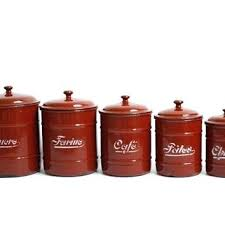 enamel kitchen canisters beautiful kitchen canisters pirotehnik me