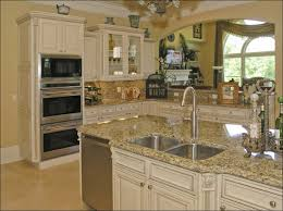 Blue Kitchens With White Cabinets Kitchen Kitchen Wall Colors With Dark Cabinets Kitchen Paint