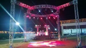 dj lighting truss package dj lighting truss at rs 100000 set hsiidc rohtak id 10713273430