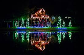 christmas light displays in ohio joy of christmas tour columbiana