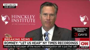 Mitt Romney Donald Trump Is A U0027phony A Fraud U0027 Cnnpolitics