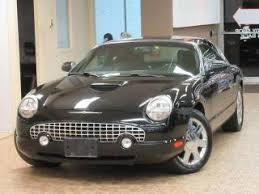 2002 Ford Thunderbird Premium Stock by Used Ford Thunderbird For Sale In Chicago Il Edmunds