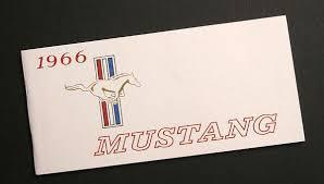 1994 ford mustang owners manual 1966 mustang owners manual an exact reproduction lamustang com