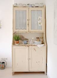 Shabby Chic Kitchen Furniture Shabby Chic Kitchen Cabinets Contemporary With Photo Of Shabby