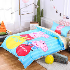 Peppa Pig Duvet Cover 100 Cotton Pig Bedding Pig Bedding Suppliers And Manufacturers At Alibaba Com