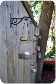 Solar Fence Lighting by Cool Fence Ideas From Tri County Fence U0026 Decks