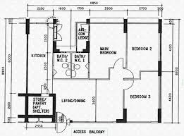 Schematic Floor Plan by Floor Plans For Lorong 2 Toa Payoh Hdb Details Srx Property