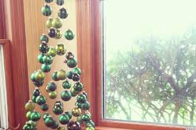 christmas tree made suspended ornaments seen reddit dma homes