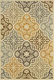 Synthetic Area Rugs Weavers Sphinx Bali Bal4904w Ivory Ivory 1 9 3 9 Area