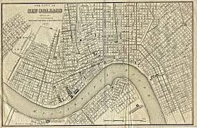 New Orleans Parish Map by Orleans Parish Louisiana Maps And Gazetteers