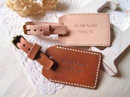 themed luggage tags 13 best luggage tags images on leather luggage tags