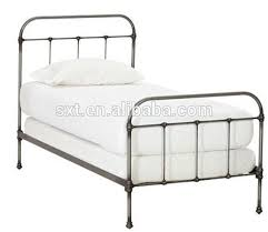 antique wrought iron metal bed single bed buy wrought iron
