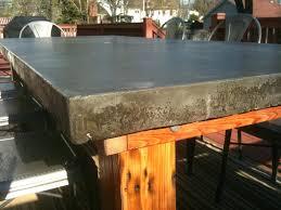 concrete top outdoor table patio ideas concrete outdoor dining table australia concrete top