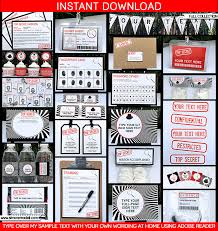 theme invitations secret birthday party invitations party ideas