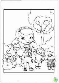 doc mcstuffins coloring pages to print 493572