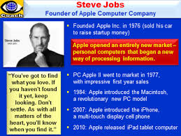 Steve Jobs Resume Steve Jobs Success Story Biography Quotes Key Lessons From