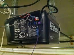 Garage Door Sensor Blinking by Low Cost High Tech Garage Door Opener Weak Signal Interference
