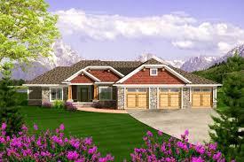 plan 89868ah craftsman ranch with 3 car garage craftsman ranch