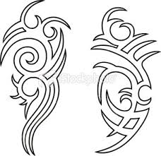 tribal outline tattoo ideas drawings pictures to pin on pinterest