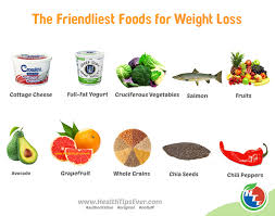 the friendliest foods for weight loss u2013 health tips ever
