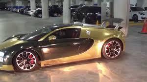 bugatti gold and golden bugatti veyron dubai youtube