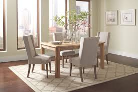 fascinating dining table and fabric chairs rustic mango wood with