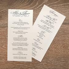wedding menu sles budget wedding invites australia 28 images calligraphy