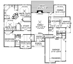 awesome and beautiful rambler house plans with two master suites 9