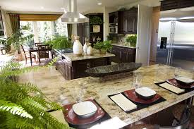 kitchen with complex granite by home stratosphere zillow digs