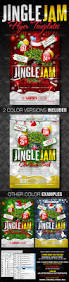 jingle jam christmas party flyer templates by creativb graphicriver