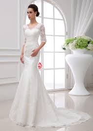 sheer sleeve wedding dresses half sheer sleeves ivory lace wedding dress lunss couture