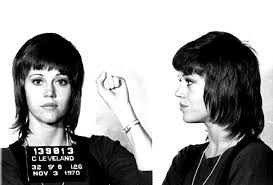 photos of jane fonda s klute hairdo jane fonda s 1970 mug shot started a beauty revolution 47 years