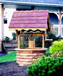 5 wishing well kv amish yard