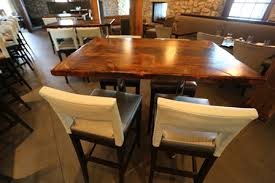 reclaimed wood restaurant table tops reclaimed wood restaurant tables ontario epoxy finish gerald reinink