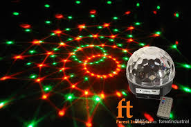 2018 newest powerful disco light mp3 rgbwpy led disco