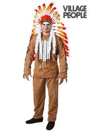 this is an officially licensed village people indian costume