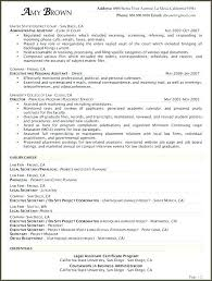 personal resume template paralegal resume template