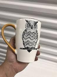 owl mug owl coffee mug spectrum designz ebay
