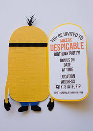 minions birthday party ideas top compilation of minion birthday party invitations which is