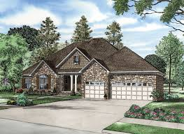 European Country House Plans by Unique Exterior And A Home Theater 59785nd Architectural