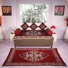 homeshop18 home decor complete premium decor diwan cover set carpet by home paradise