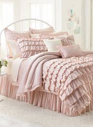 Romantic Comforters Best 25 White Ruffle Bedding Ideas On Pinterest Ruffle Bedding