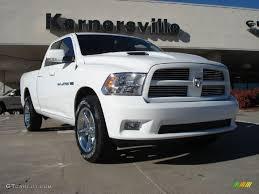white dodge truck 2011 bright white dodge ram 1500 sport cab 4x4 39889199