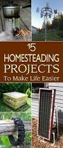 great homesteading projects to make life easier
