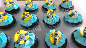 edible minions 12 edible minions cupcake or cake decoration toppers on a