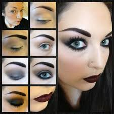 makeup or a bad concert makeup gothic inspired smokey eye and
