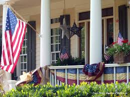 4th Of July Bunting Decorations Front Porch Appeal Newsletter June 2015 Summer Edition Online