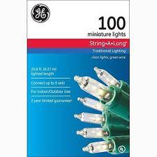 ge 100 150 christmas lights ebay