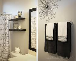 Decor Ideas For Bathrooms by Towel Decor Ideas Bathroom Decor