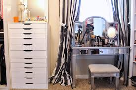 Vanity With Makeup Area by Tiffanyd Updated Closet And Makeup Filming Area Tour
